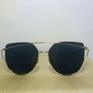 Double metal Sunglasses